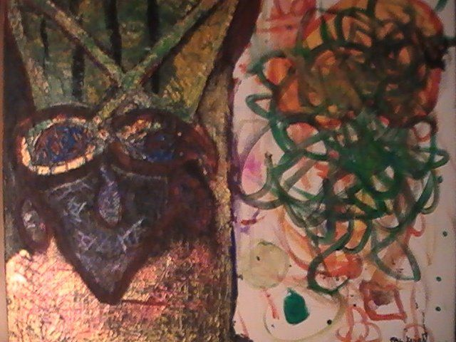 """Painting titled """"Persephone"""" by Floyd Knight, Original Art, Oil"""