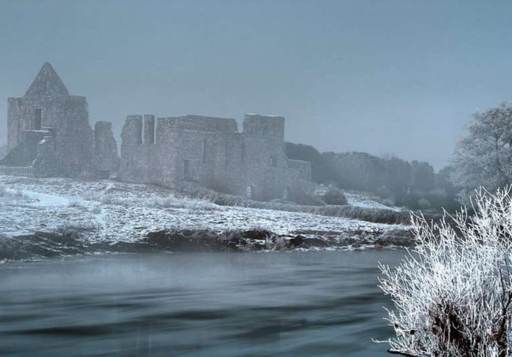"""Photography titled """"Castle II"""" by Neier Andreas, Original Art, Digital Photography"""