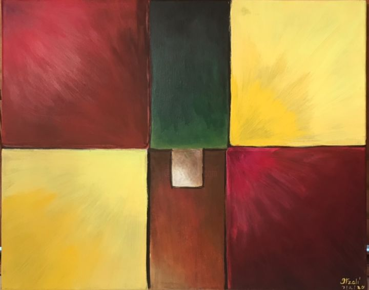 """Painting titled """"Cuadros  Astractos"""" by Neina Campos, Original Art, Acrylic"""