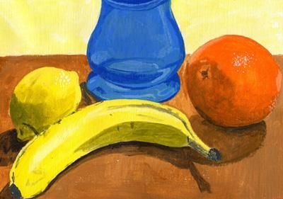 """Painting titled """"Array of Fruit"""" by Nichole Herbst, Original Art,"""
