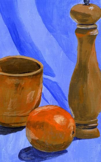 """Painting titled """"Still life"""" by Nichole Herbst, Original Art,"""