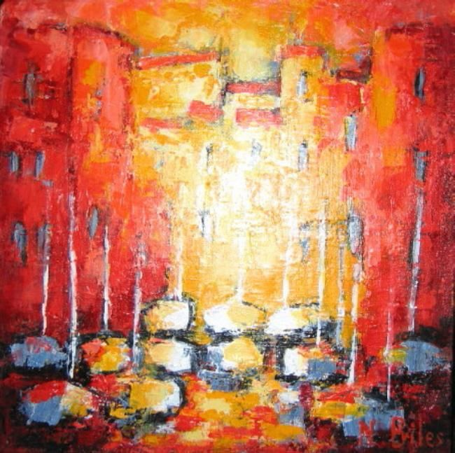 Painting,  30 x 30 cm ©2008 by Nicole Biles -  Painting, Contemporary