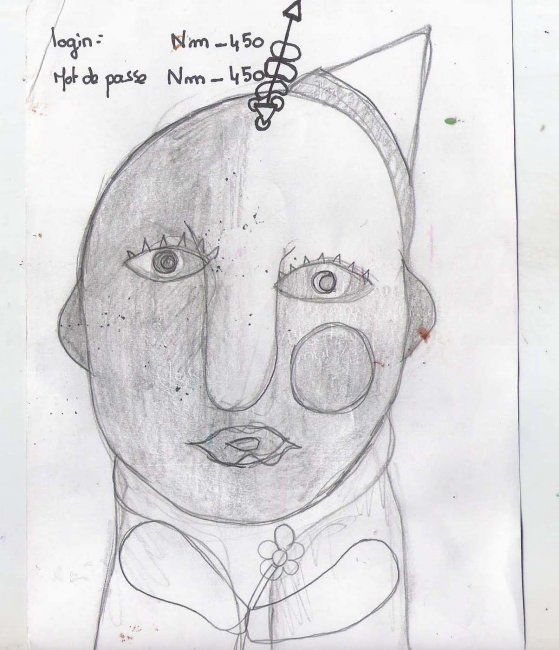 16 x 22 cm - ©2011 by Anonymous Artist