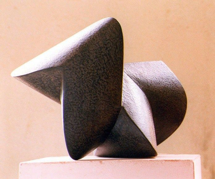 ikara - Sculpture,  10.2x13.8x10.2 in, ©1998 by Nikolaus Weiler -                                                                                                                                                                                                                                                                      Abstract, abstract-570, Other, Wood, Abstract Art