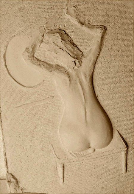 """Sculpture titled """"In front of a mirror"""" by George Nikonov, Original Art,"""