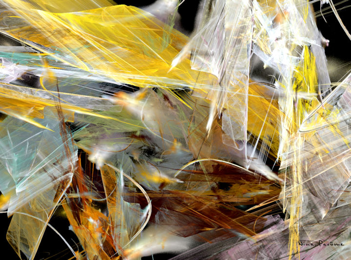 SONG OF FEATHERS - Digital Arts, ©2016 by Nina Pacôme -                                                                                                                                                                                                                                                                                                                                                                                                                                                                                                                                                                                                                                                                                                                                                                                                                      Abstract, abstract-570, Abstract Art, plumes, mouvement, feathers, indian, indien, cri, abstract, abstrait, cry, song, chant, ART FRACTAL, ART DIGITAL, NINA PACOME