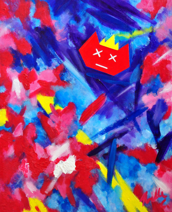 """Painting titled """"noelleconnell-elect…"""" by Noelle Connell, Original Art,"""