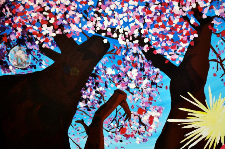 """Painting titled """"noelleconnell-outsi…"""" by Noelle Connell, Original Art,"""