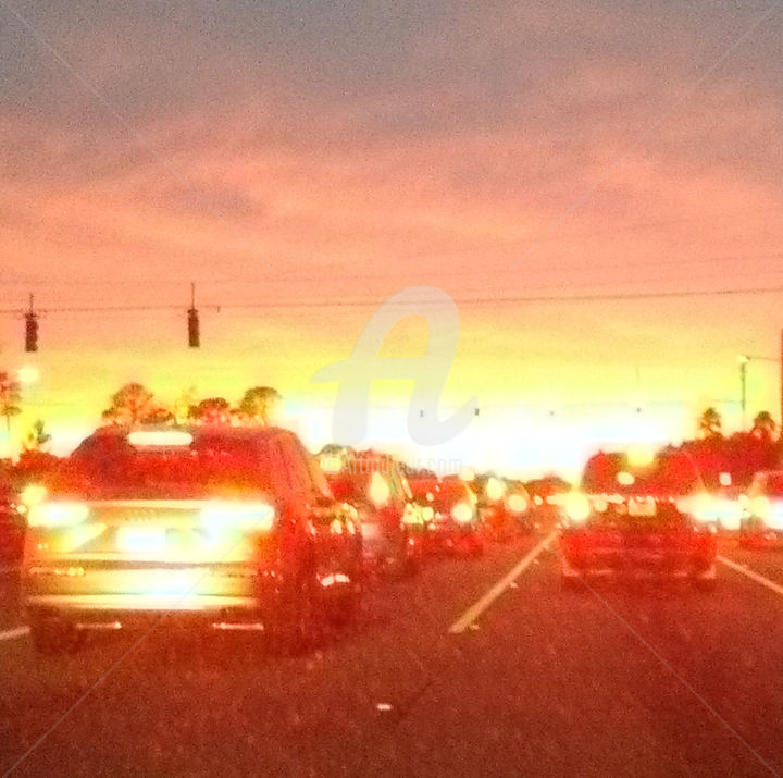 """Photography titled """"Crowded and Cloudy…"""" by Notorious Ron, Original Art,"""