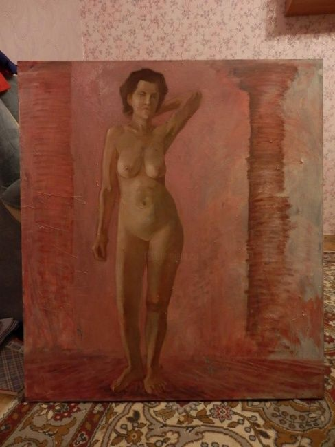 """Painting titled """"nude"""" by Victoria Ceban, Original Art,"""