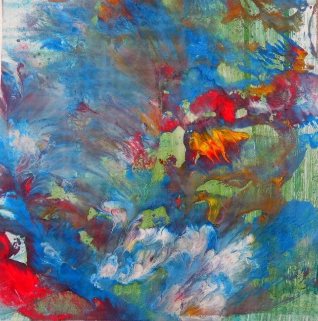 """Painting titled """"nr.1"""" by Victoria Ceban, Original Art,"""