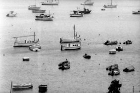 port lligat - Photography,  30x20 cm ©1999 by oeildepierre -            port llegat catalogne village Cadaques natal de salvador Dali