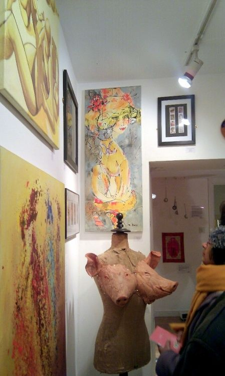 """imag1229.jpg The exhibition """"The Gender Agenda"""" The W3 gallery London"""