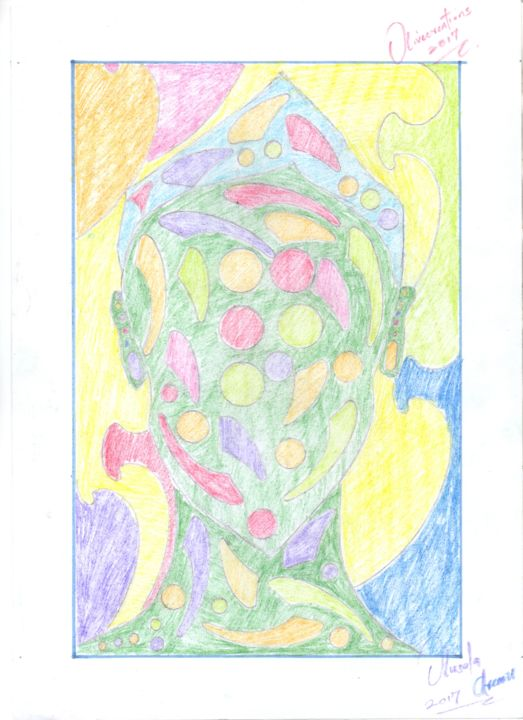 """Drawing titled """"figure"""" by Olivecreations, Original Art, Pencil"""