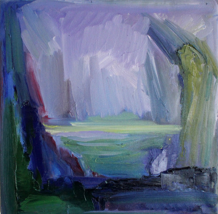 Painting, oil, abstract, artwork by Ona Lodge