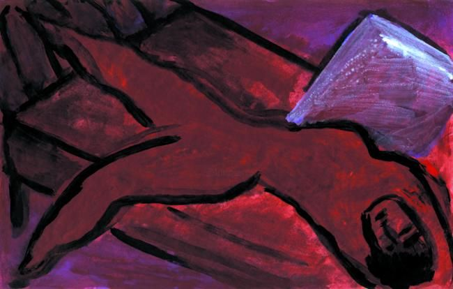 46.jpg - Painting, ©2008 by Jerusalmix -