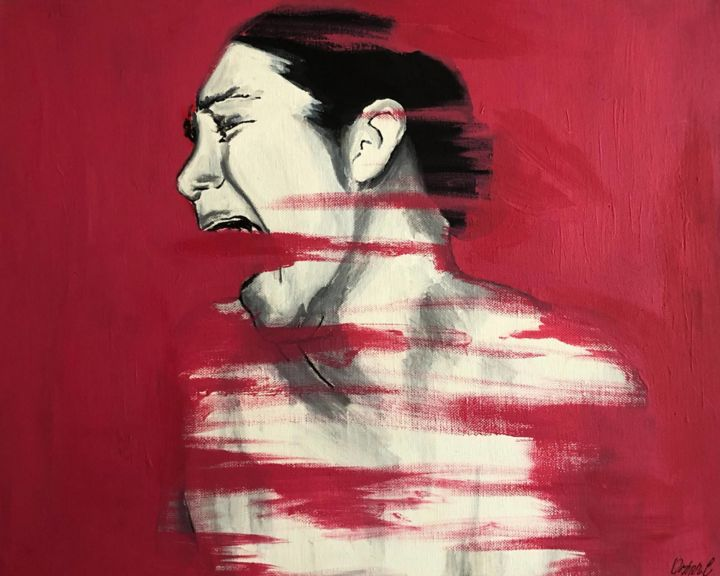 Pain, Painting by Orhan Can | Artmajeur