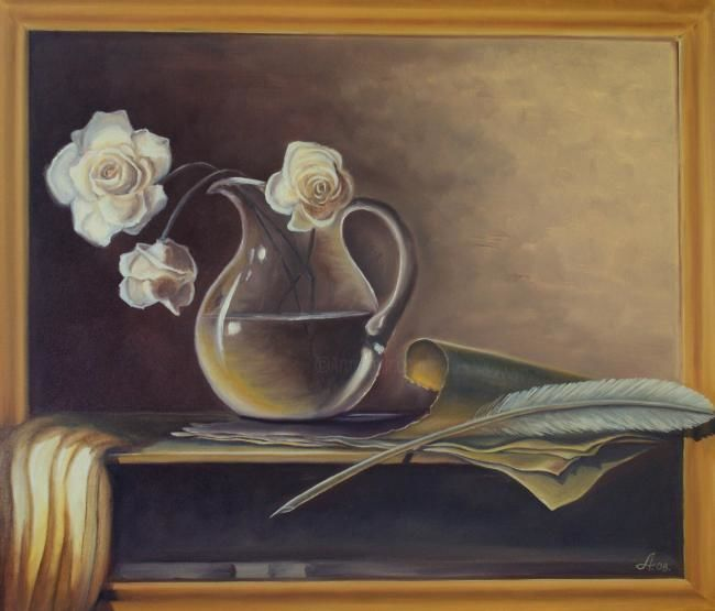 """Painting titled """"Old beauty"""" by Chipulnevazut, Original Art,"""