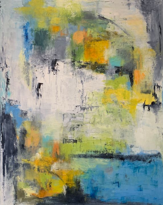 """Painting titled """"Untitled - 8438"""" by Betsy Cole, Original Art, Oil"""