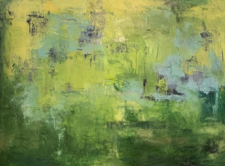 """Painting titled """"Untitled - 8431"""" by Betsy Cole, Original Art, Oil"""