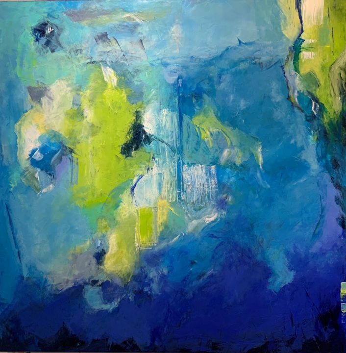"""Painting titled """"Untitled - 8406"""" by Betsy Cole, Original Art, Oil"""