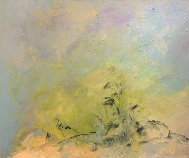 """Painting titled """"Untitled - 8407"""" by Betsy Cole, Original Art, Oil"""