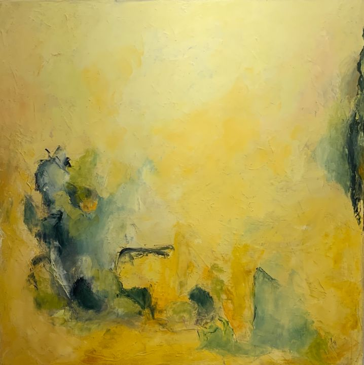"""Painting titled """"Untitled 8462"""" by Betsy Cole, Original Art, Oil"""