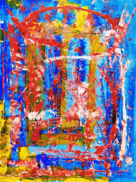 """Painting titled """"KASKOS"""" by Pascal Walter, Original Art, Acrylic"""