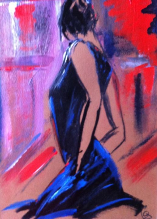 23 - Painting ©2013 by Pascale Gonzales -