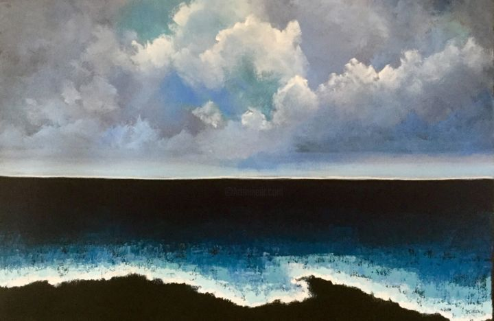 Painting, acrylic, abstract, artwork by Pam Carlson