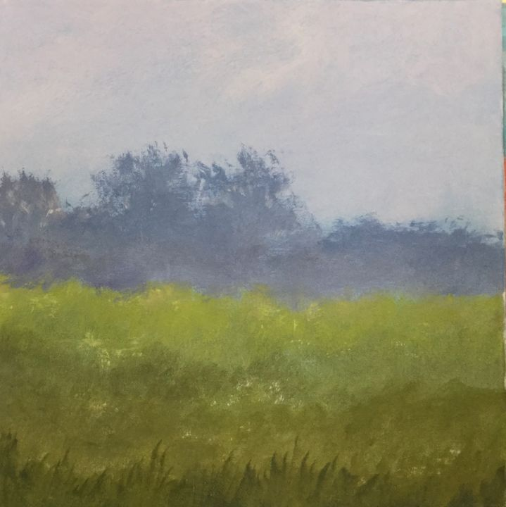 Painting, acrylic, classicism, artwork by Pam Carlson