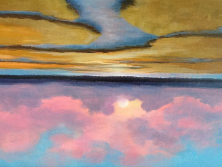 mother-natures-paint-brush-1.jpg - Painting ©2015 by Pam Carlson -