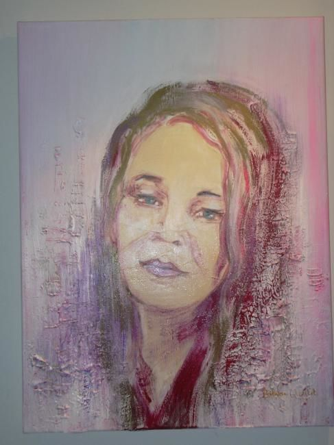 Hilda - Painting, ©2008 by Patricia Queritet -