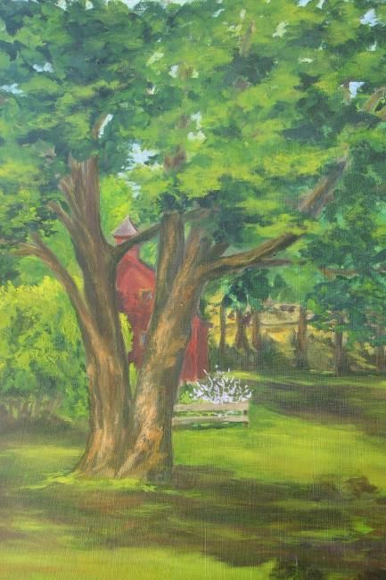 """Painting titled """"Summer Light, After…"""" by Patricia Barone, Original Art, Oil"""