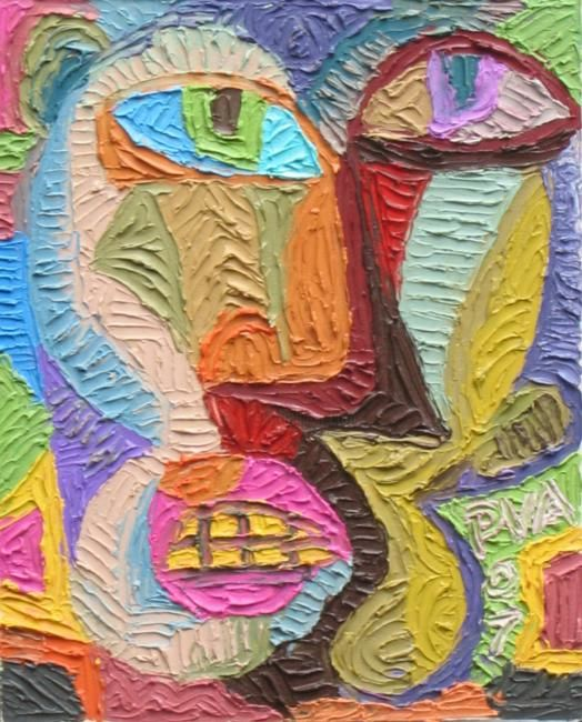 """Painting titled """"Untitled 4"""" by Paul Arenas, Original Art,"""