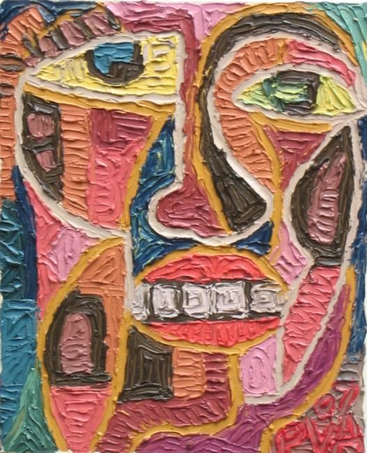 """Painting titled """"Untitled 5"""" by Paul Arenas, Original Art,"""