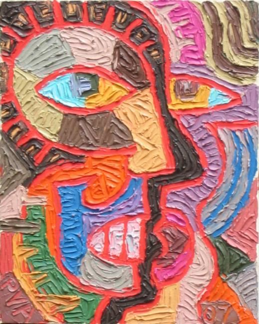 """Painting titled """"Untitled 7"""" by Paul Arenas, Original Art,"""