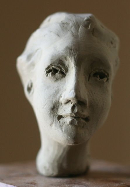 Visage 2 - Sculpture ©2009 by Paul Crochat -