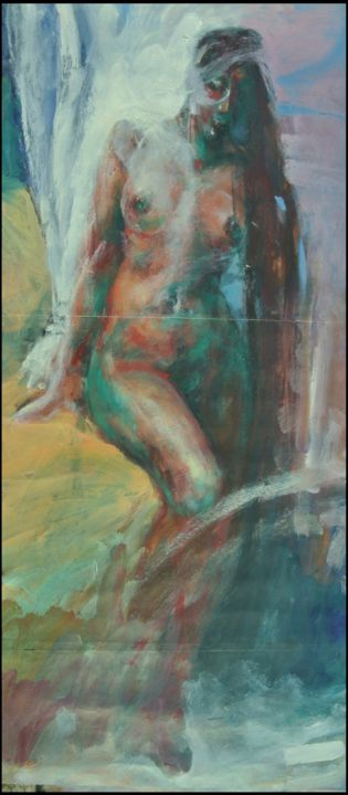 """Painting titled """"untitled2"""" by Pavel, Original Art, Acrylic"""