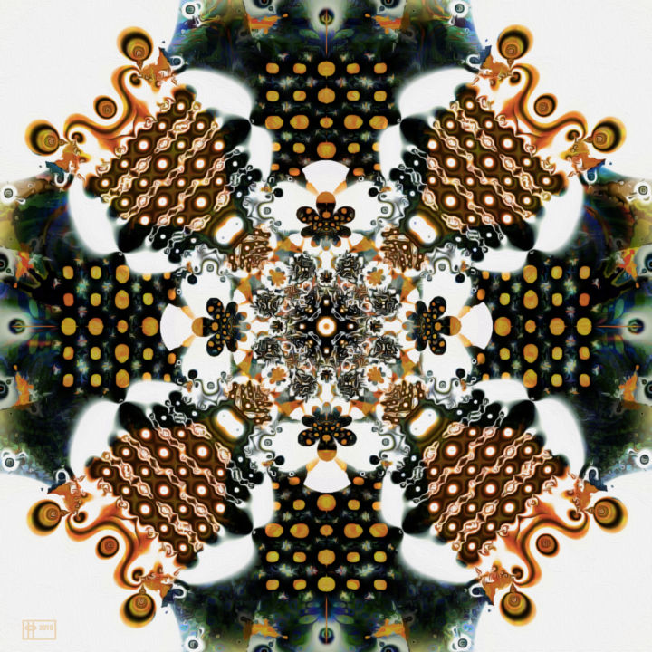 Beadacious - ©  jim pavelle, pavelle fine art, abstract fractal Online Artworks