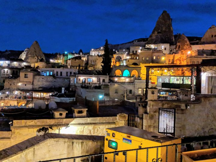 City of Cappadocia - Photography,  24x36x1 in, ©2019 by Memoir Pictures -