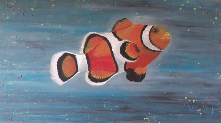 Poisson clown - © 2019 poisson, mer, aquarium, poisson clown Online Artworks