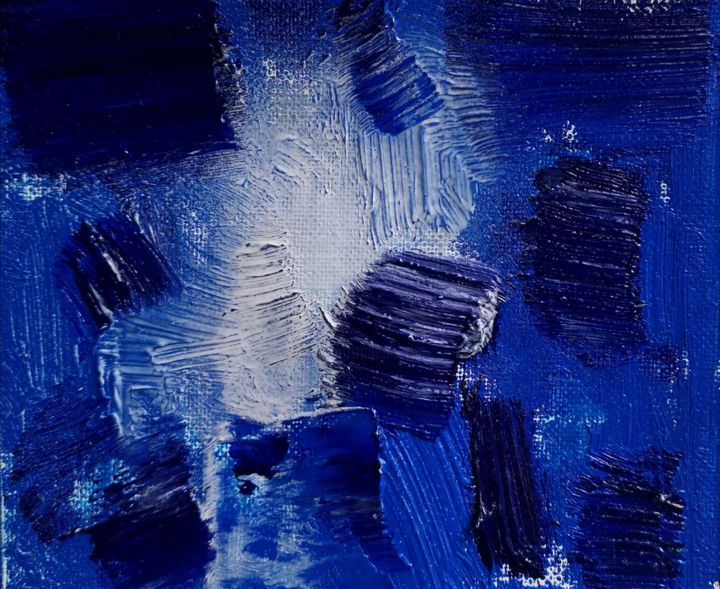 """Painting titled """"One day 5.24"""" by Pengbo Wu, Original Art, Acrylic"""
