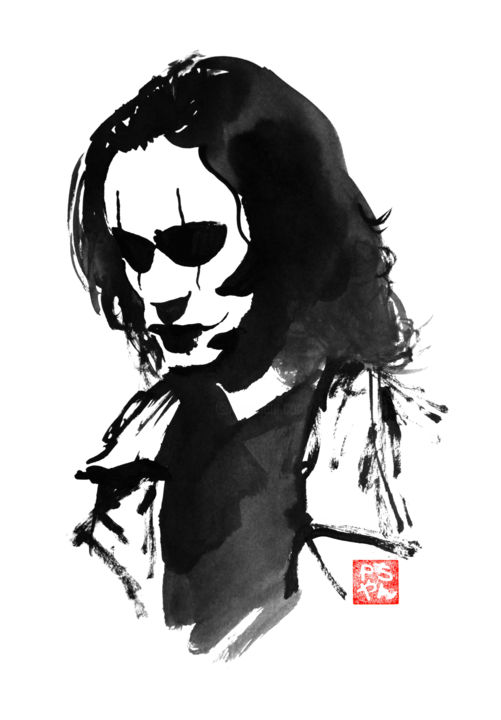The Crow Boyama Philippe Imbert Tarafindan Artmajeur