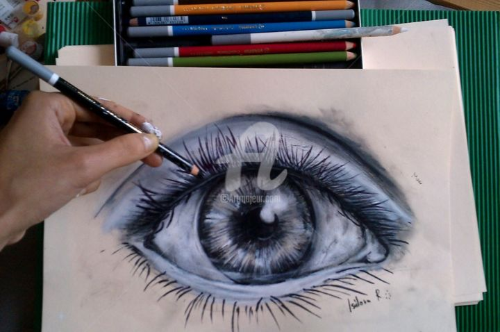 Open Your Eyes Look Within Are You Satisfied With The Life You Re Living Bob Marley Boyama Dora Tarafindan Artmajeur