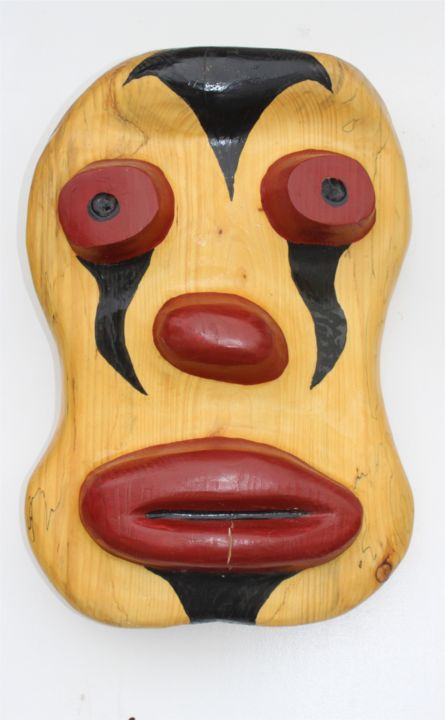 """Sculpture titled """"My oh My"""" by Peter Lattey, Original Art, Wood"""