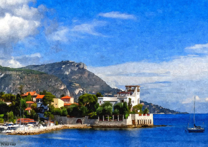 Beaulieu Sur Mer Alpes Maritimes Provence Cote D 39 Azur French Riviera France Prints For Sale
