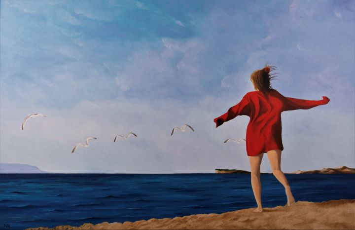 Fly like a seagull - ©   Online Artworks