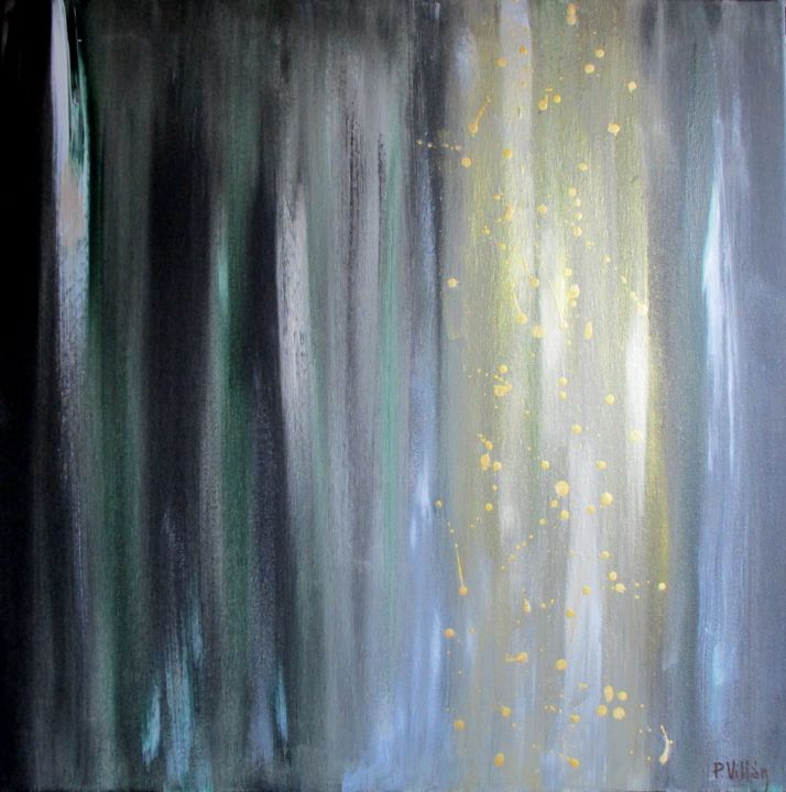 Champagne-OP1 - © 2019 champagne peinture, champagne painting, champagne art Online Artworks