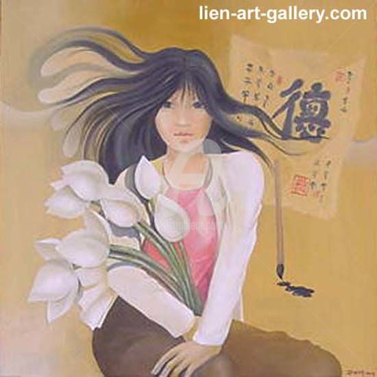 """Painting titled """"Orig oil painting N…"""" by Pham Binh Chuong, Original Art, Oil"""